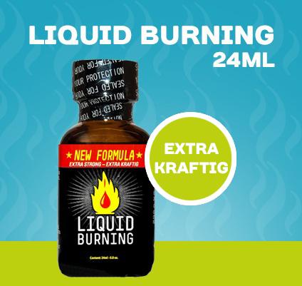 Liquid Burning Poppers - 24ml